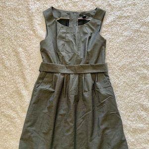 Lined a-line dress